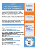 Picture: Flyer for Tri-State Webinars 2018-2019