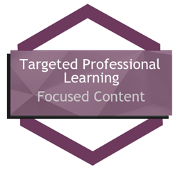 Preschool Professional Learning Targeted Content icon