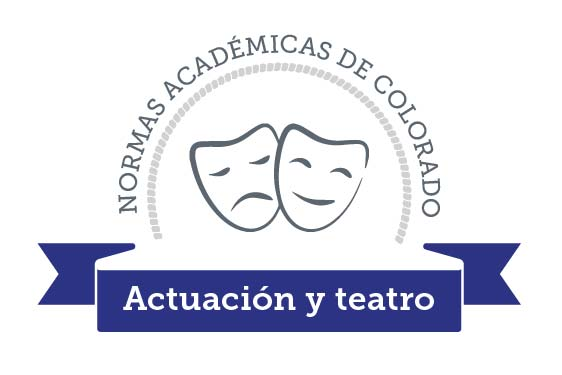 Colorado Academic Standards Drama and Theatre Arts Graphic Spanish